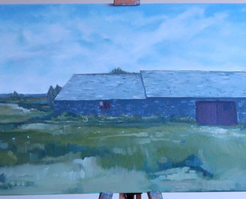 The Farmhouse at Bude by Lisa Oakley