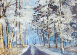 Winter Wonderland Lisa Oakley Artist